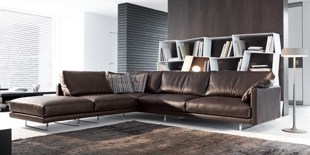 canap en cuir avignon by. Black Bedroom Furniture Sets. Home Design Ideas